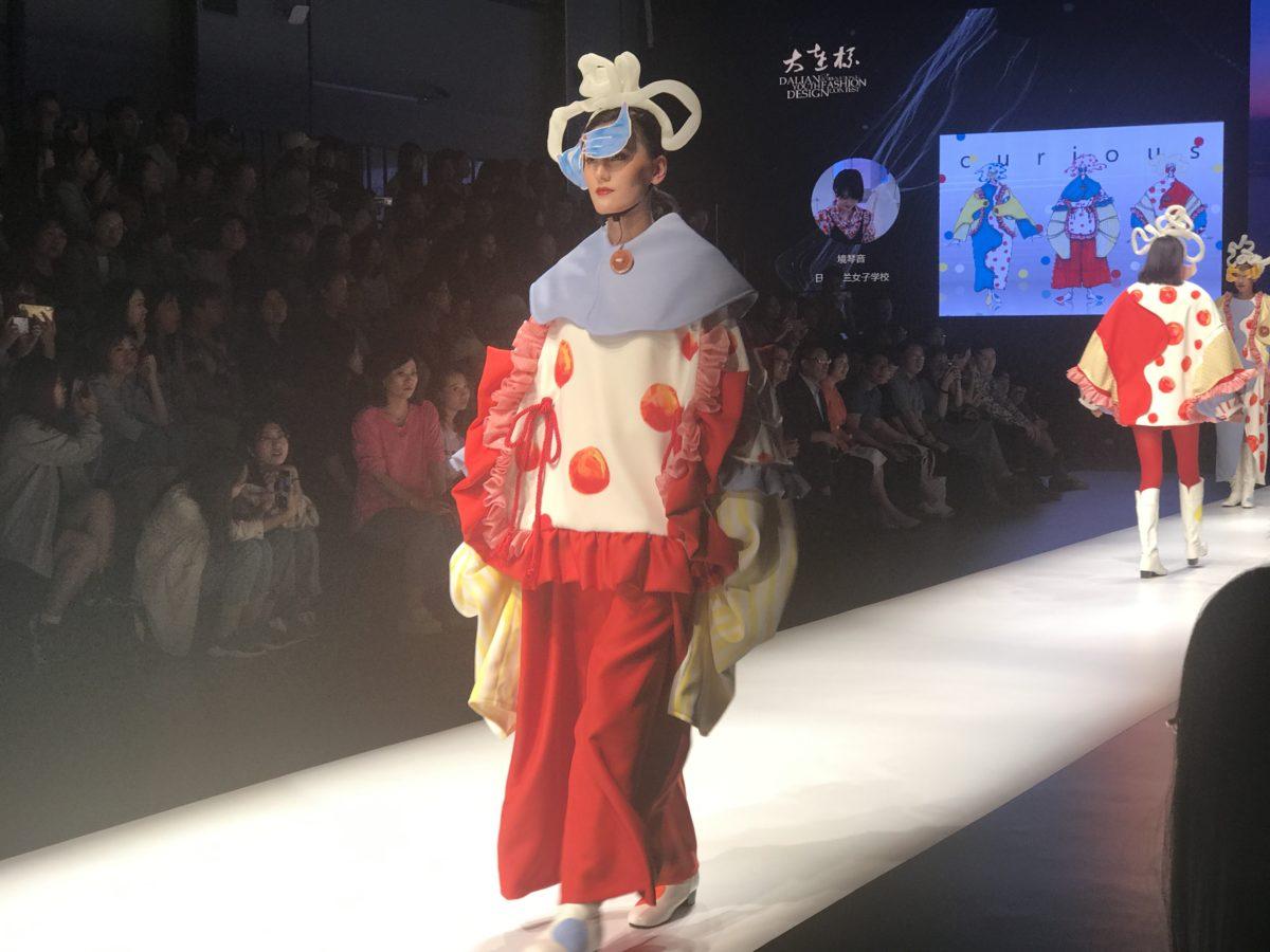 ファッション総合学科 中国 ・大連 ファッションコンテストに参加 協定大学にて連携授業を行いました