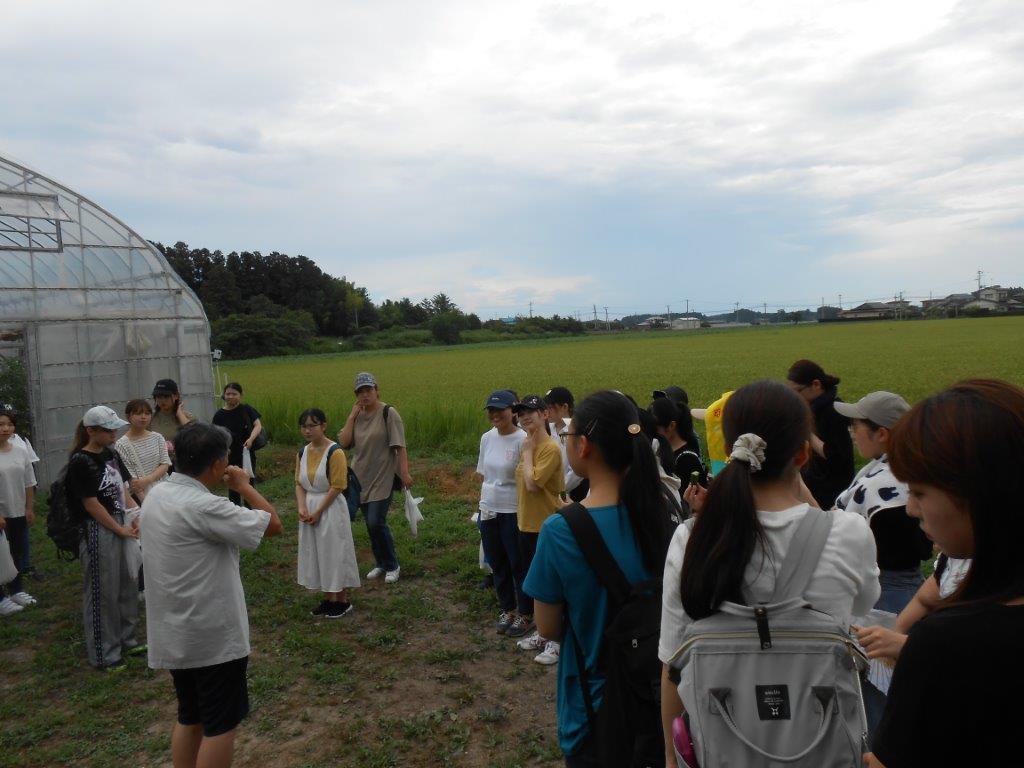 保育食育プロジェクトでフィールドワーク