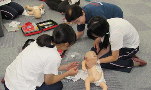 赤十字幼児安全法支援員養成講習