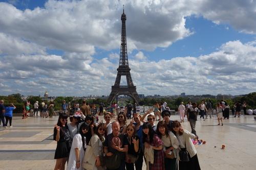 生活デザイン学科がパリ海外研修を実施