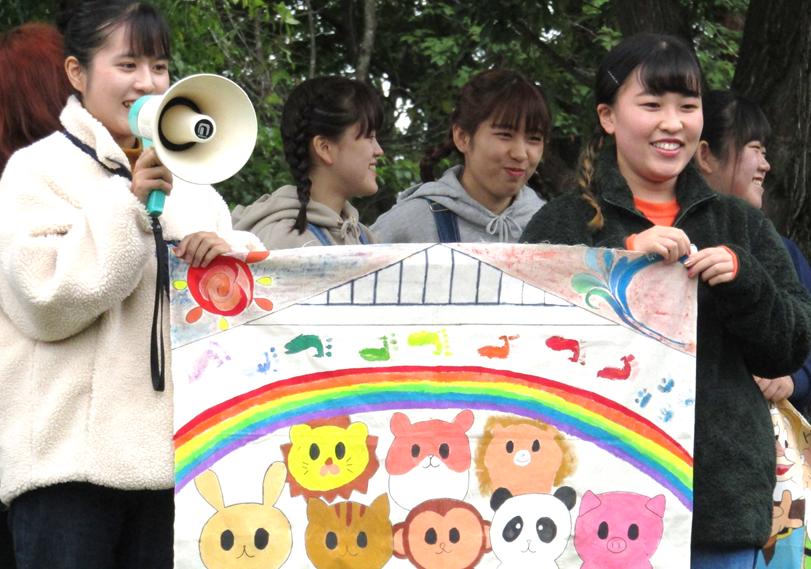 幼児教育科グループワークキャンプが行われました