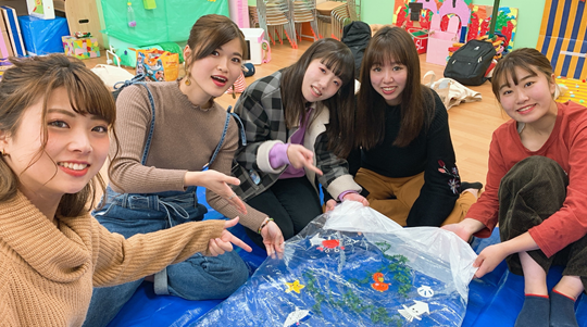 学生企画☆子育て支援イベントを実施します!