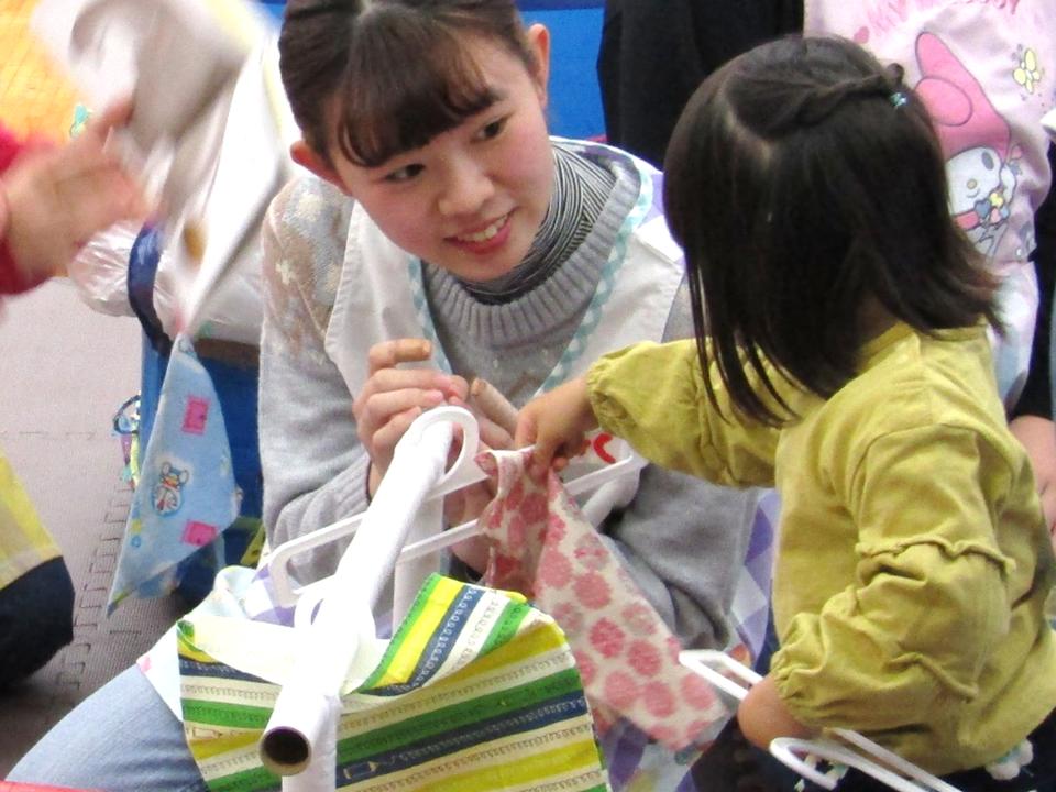 幼児教育科の学生企画☆子育て支援イベントを開催しました