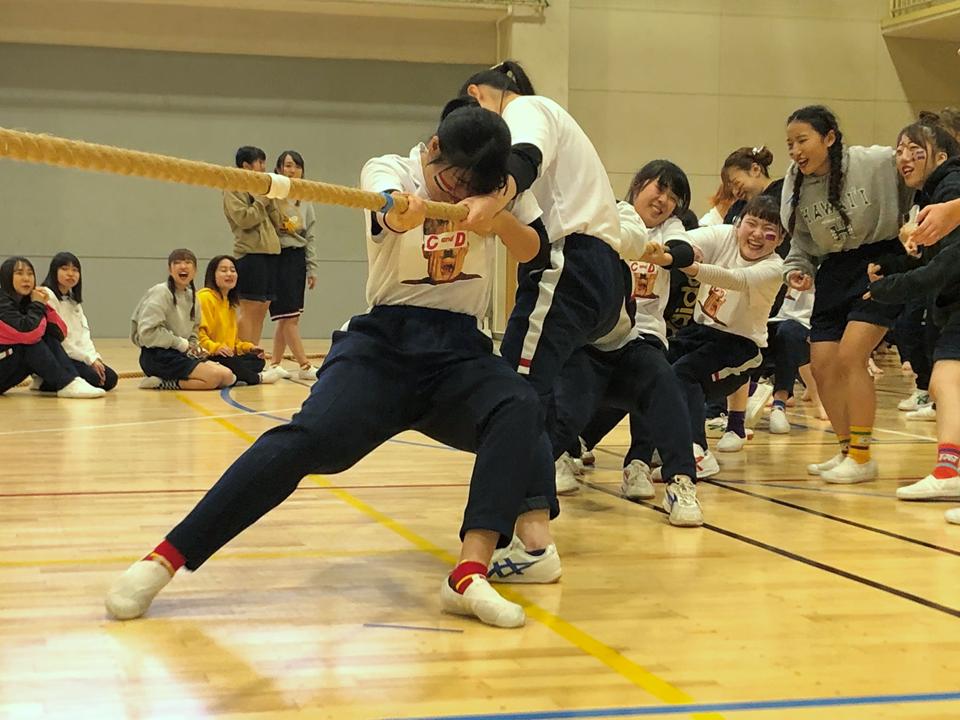 短大生主催の「スポーツ大会」を開催!