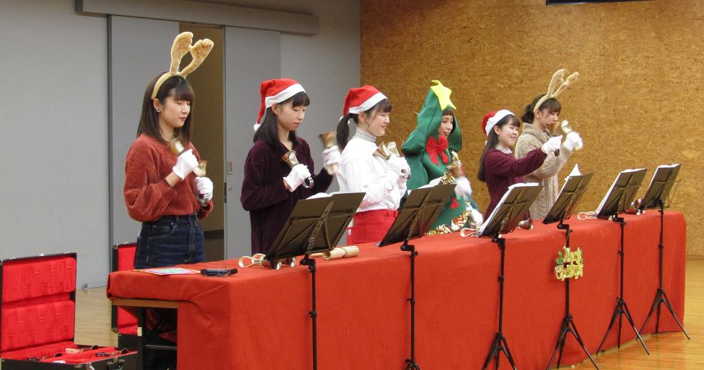 幼児教育科の学生主催「クリスマス会」を開催
