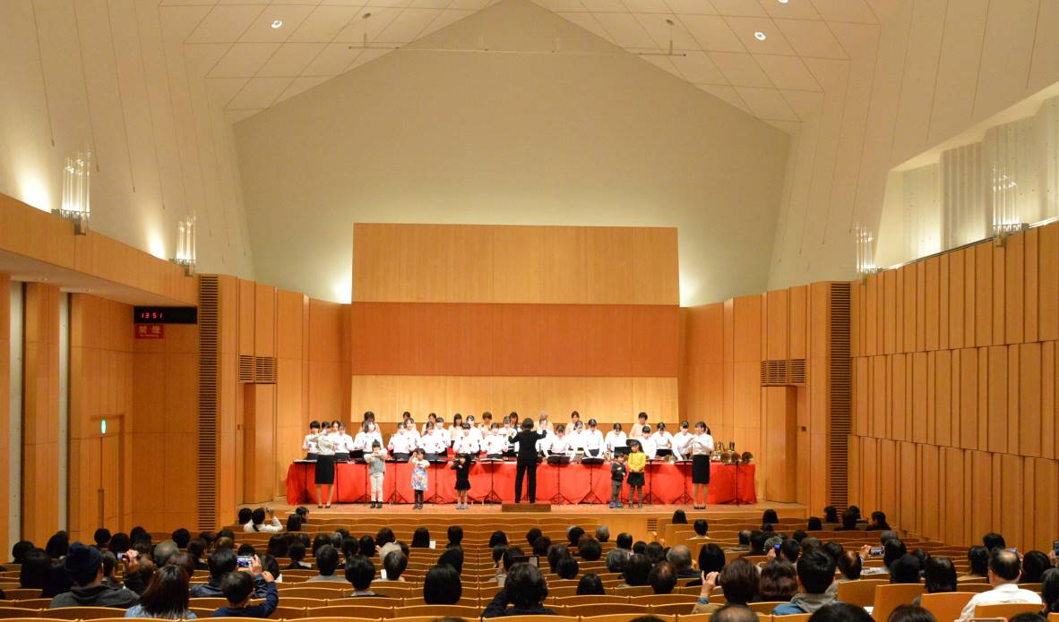宮城県ハンドベルコンサートに出演