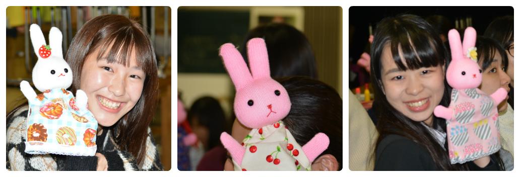 保育科授業紹介【児童文化Ⅰ〜2】私の手袋人形