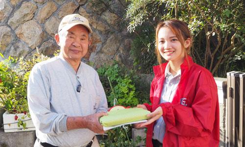 ひとり暮らし高齢者へのお弁当配食サービス