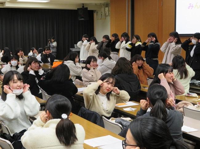 1月22(水)「保育者論Ⅱ」活動報告会