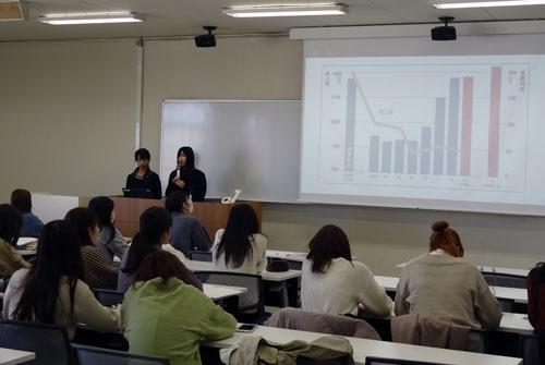 経営会計学科が卒業研究発表会を実施しました