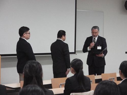 令和元年度 同窓生功労賞・奨励賞の授賞式及び記念講演が開催されました。