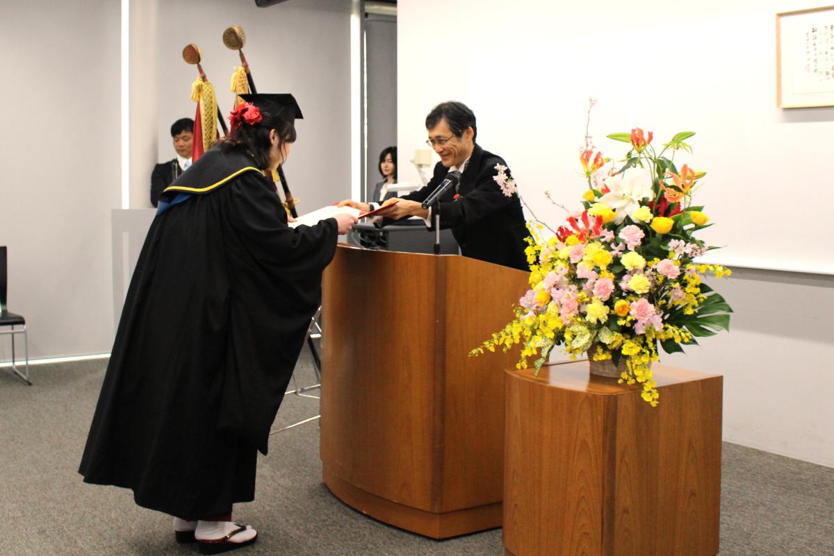 2019年度卒業証書・学位記および各種表彰の授与が行われました