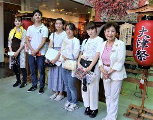 共通科目の「近江学入門」で学長がフィールドワークを実施しました