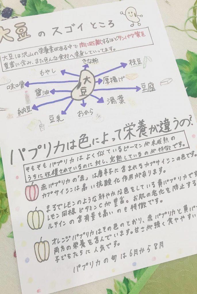 給食経営計画実習の授業紹介!