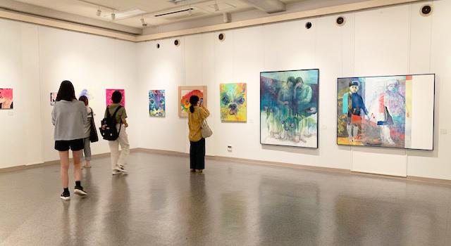 「九州産業大学造形短期大学部絵画展」を開催しました