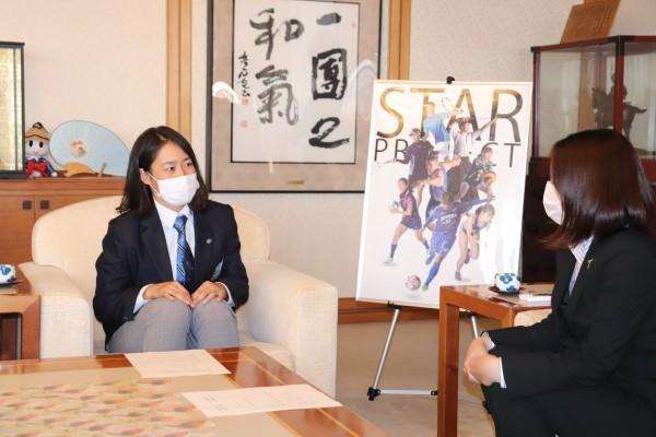 徳島市長と本学アスリートとの意見交換会を開催しました
