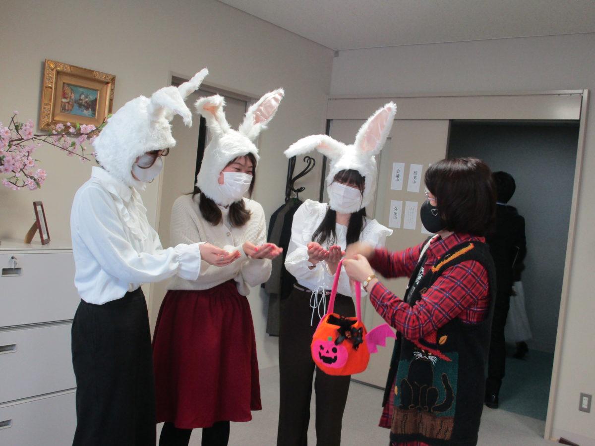 伝統のハロウィンイベント開催