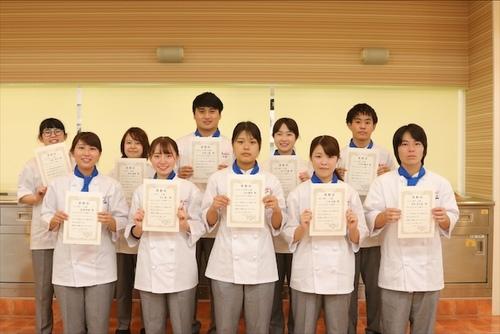 調理コースが「オリジナルレシピコンテスト」を開催