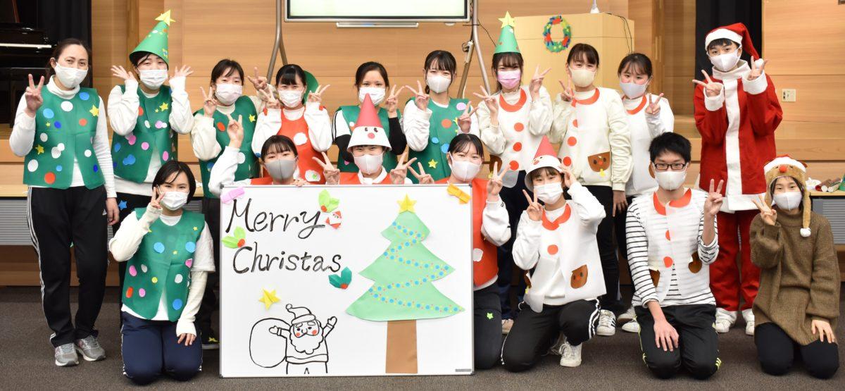 【幼児教育学科2年】保育実践演習ークリスマス会ー