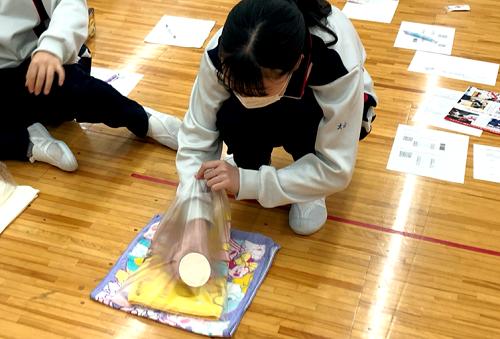 幼児教育科にて「赤十字幼児安全法短期講習会」を実施しました