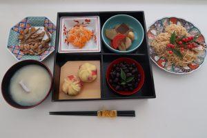 食健康コース「地域伝統食実習」のご紹介~お正月料理~