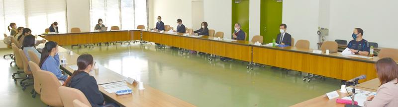 「学生と教職員との意見交換会」を開催しました