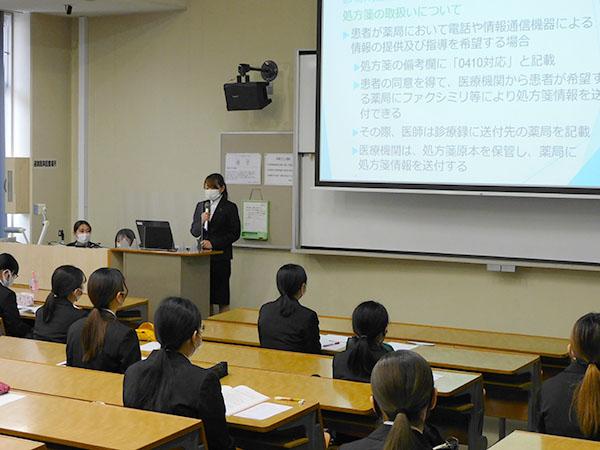 【医療秘書学科】「卒業研究発表会」を実施しました!