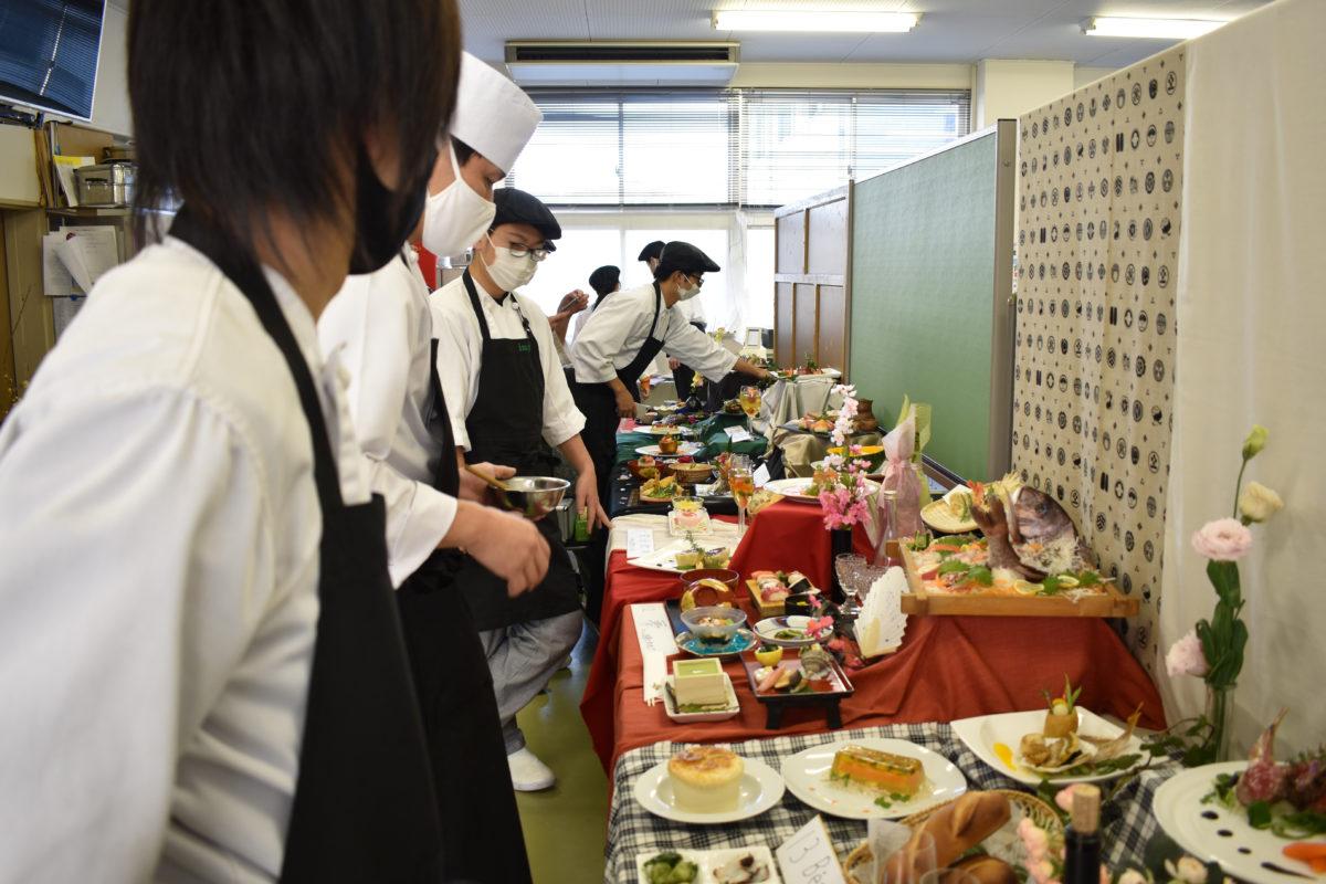 【調理師専修科】2020年度 卒業作品展