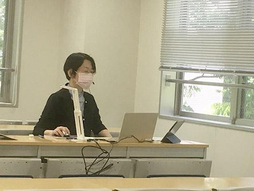 【歯科衛生学科】 オンラインリアルタイム配信授業を開始しました