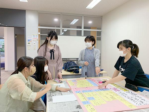 【養護保健学科】採用試験対策について~ブレーンストーミング~
