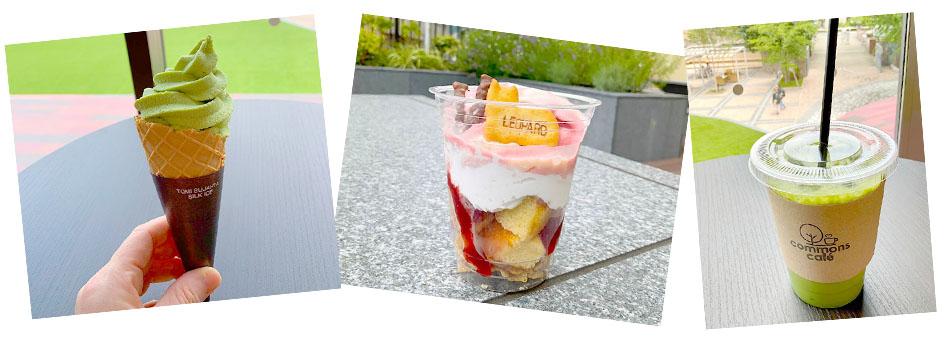 【保育学科】暑い日にはcommons caféスイーツ!